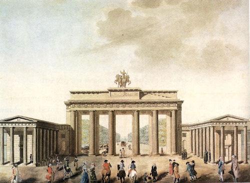 Brandenburg Gate Pictures Built The Brandenburg Gate