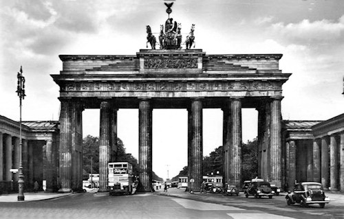 Brandenburg Gate Berlin 1930