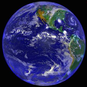 blauer planet erde europa